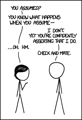 xkcd -when_you_assume